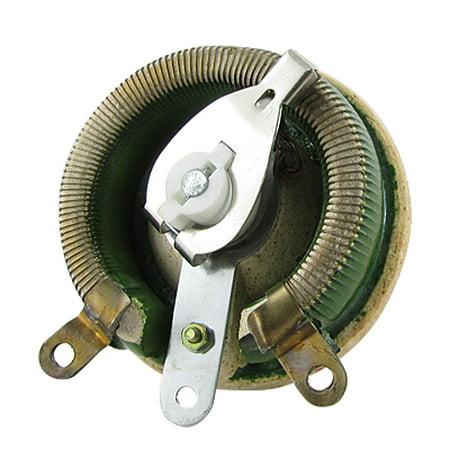 100W Watts 20 Ohm Rotary Wirewound Variable Resistor Rheostat