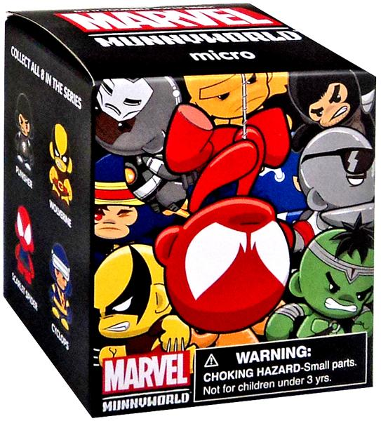 "Marvel MunnyWorld Micro Munny Series 2 1"" Mystery Pack"