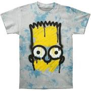Simpsons Men's  El Barto Tie Dye T-shirt Multi