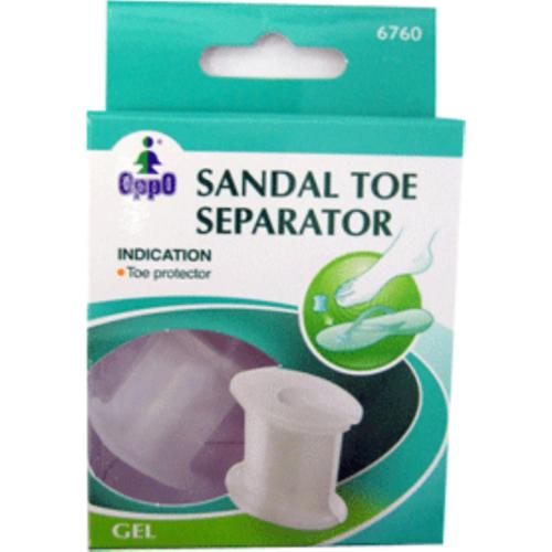 Oppo Gel Sandal Toe Separator [6760] 2 ea (Pack of 3)