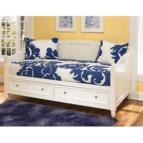home styles naples storage daybed, white - walmart