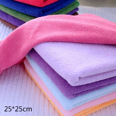 Square Cloth Kitchen Cleaning Cloth Cleans Removes Grease Bacteria Polishes HFON