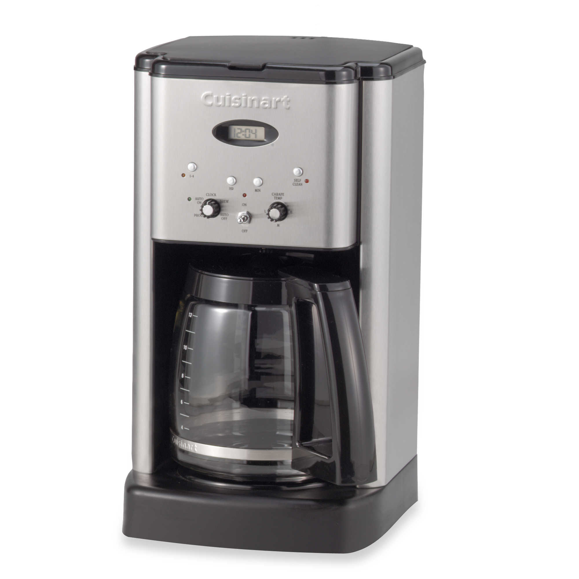 Certified Refurbished Cuisinart CC-10FR Grind & Brew 10-Cup Coffeemaker, Silver (CC-10)
