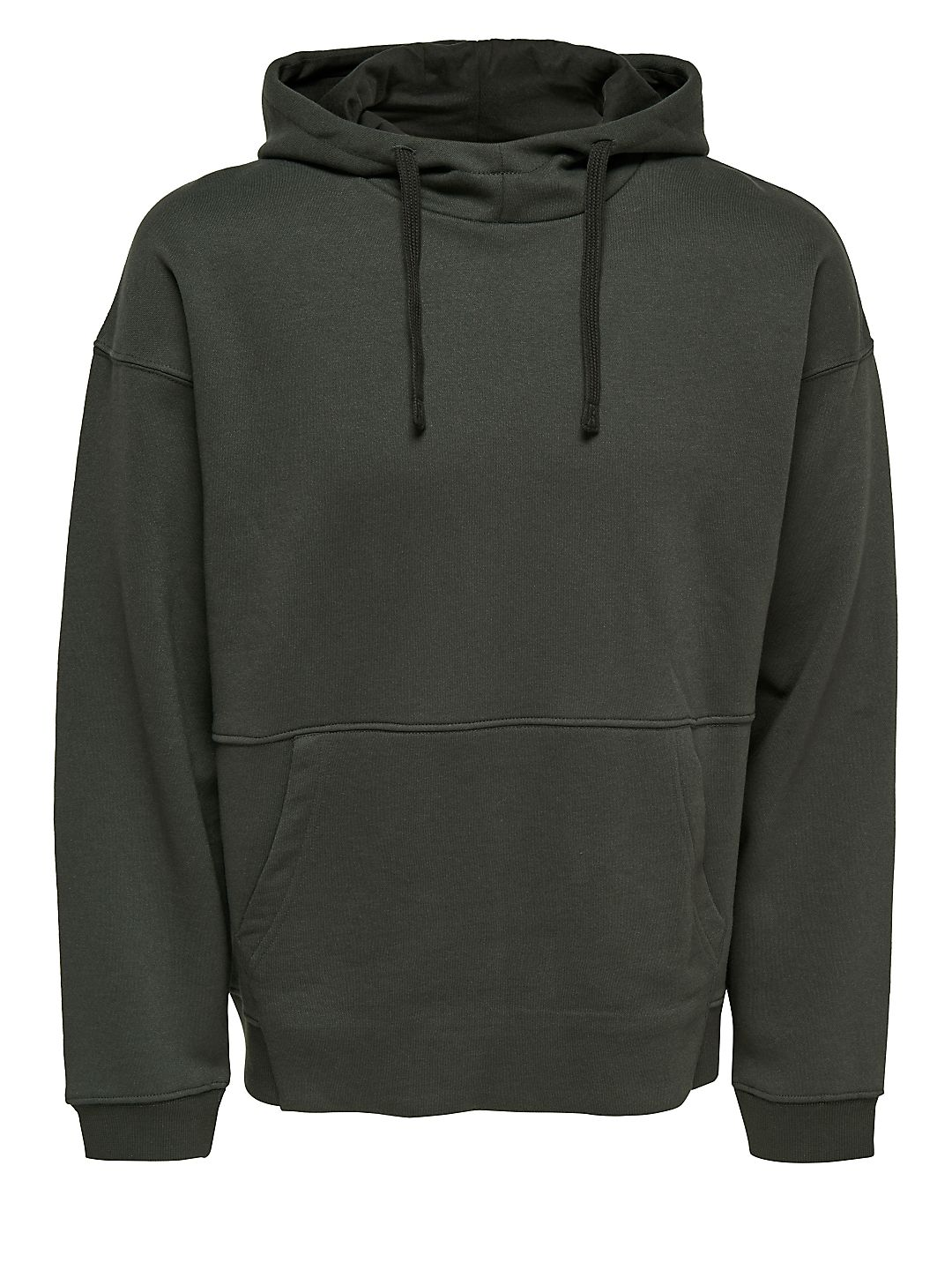 Onsterry Boxy Cotton Hoodie