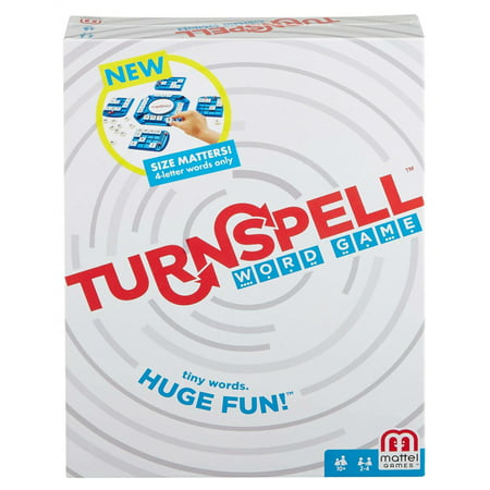 Turnspell Word Spelling Strategy Game for 2-4 Players Ages 10Y+