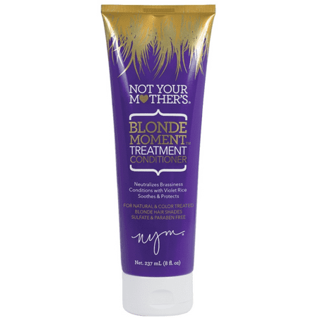 Not Your Mothers Blonde Moment Treatment Purple Conditioner 8 Oz (Purple Shampoo And Conditioner)