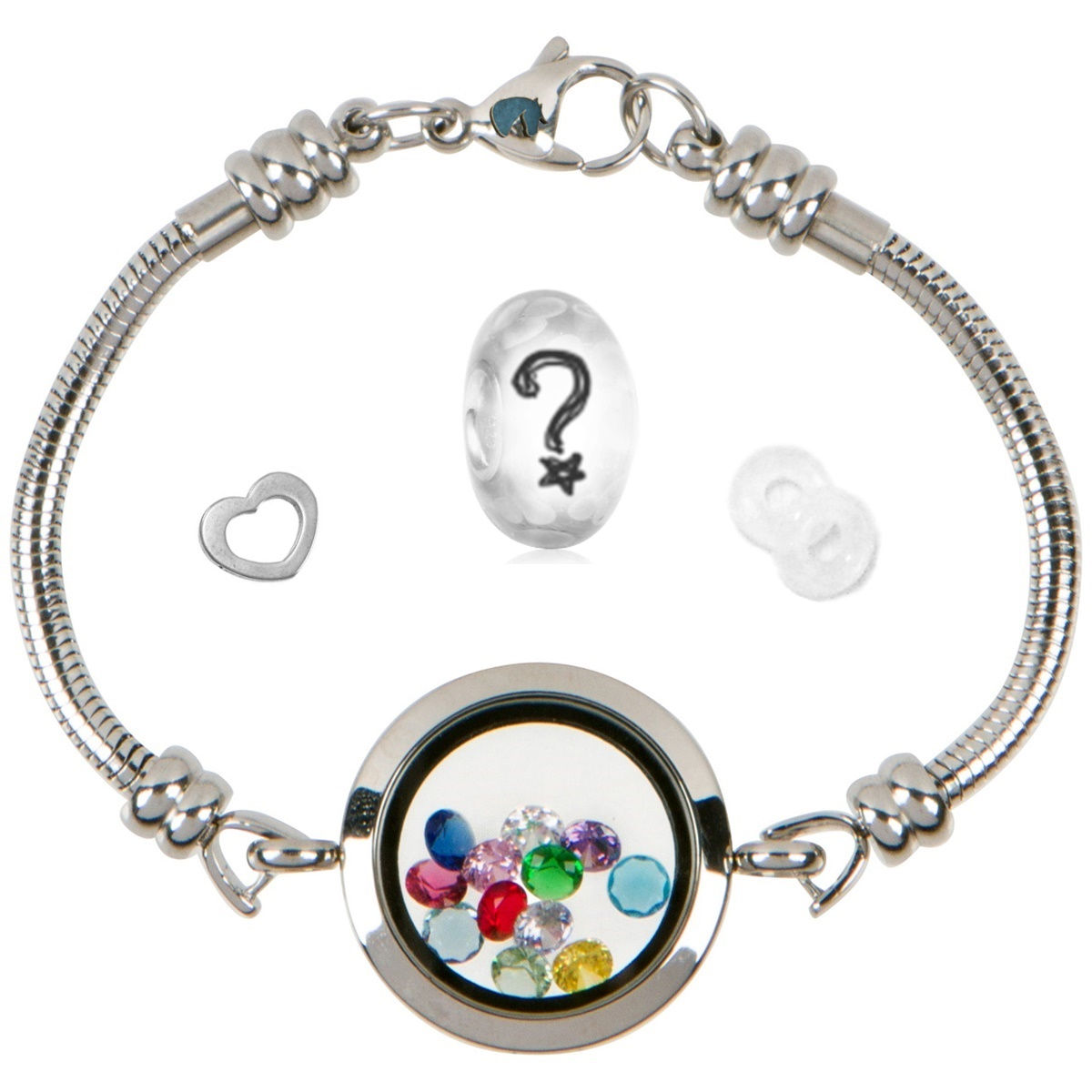 DNA Molecule Charm For Origami Owl | universebecoming | 1200x1200