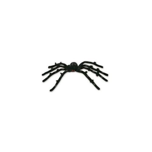 Seasons 196498 Black 20 inch Posable Spider