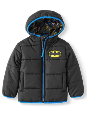 DC Comics Batman Toddler Boy Winter Jacket Coat