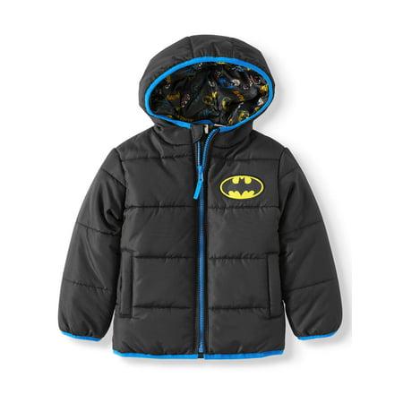 DC Comics Batman Toddler Boy Winter Jacket Coat 2t Winter Coat
