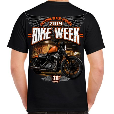 Biker Life 2019 Bike Week Daytona Beach Dark Side T-Shirt