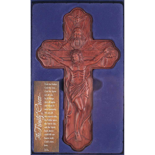Dicksons Inc Trinity Cross Wall Decor