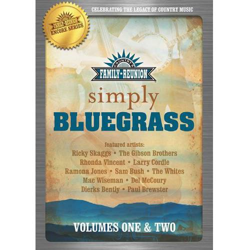 Country's Family Reunion: Simple Bluegrass - Volumes 1-2 (Music DVD)