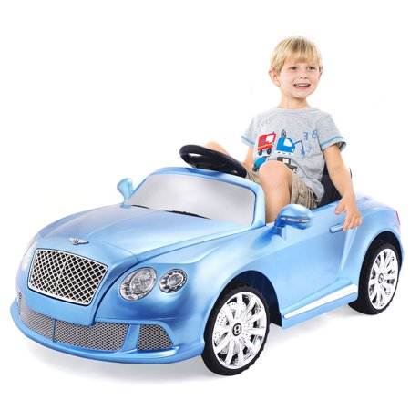 Costway 12V Bentley Gtc Kids Ride On Car Electric Rc Remote Control W Lights Mp3