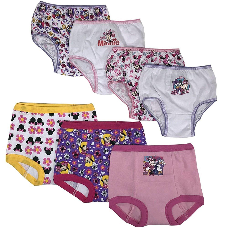 Disney Toddler Girls' Minnie 3pk Training Pants and 4pk Panty