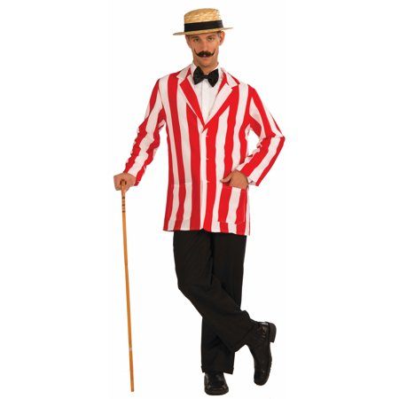 Plus Size Mens Old Time Jacket Halloween Costume - Halloween Straight Jacket