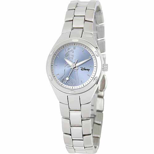 Cinderella Women's Stainless Steel Watch, Silver Bracelet