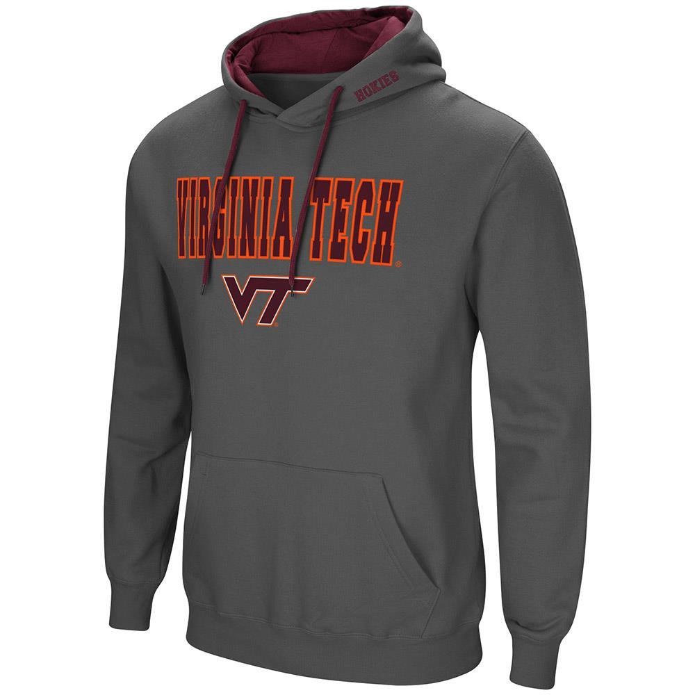 Mens Virginia Tech Hokies Pull-over Hoodie - M
