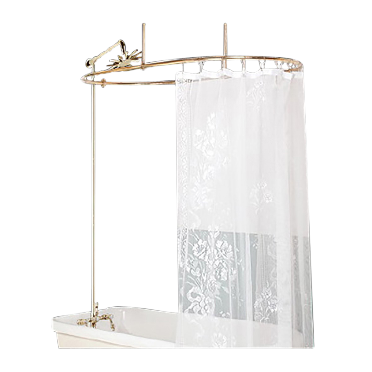 Luxury Claw Foot Tub Shower Curtain Tuckr Box Decors How To