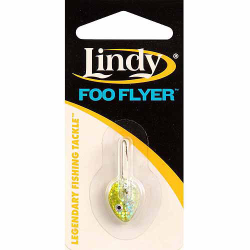 Lindy 1/8 oz. Foo Flyer Red Glow - M14DB-50