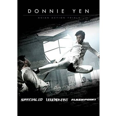 Donnie Yen: Asian Triple Feature: Special ID / Legend Of The Fist / Flash Point - Chinese Khmer Movie