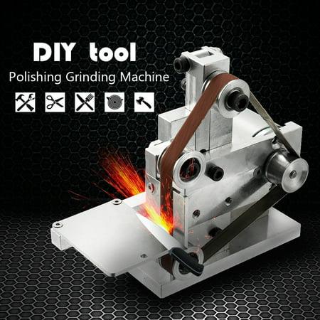 Multifunctional Grinder Mini Electric Belt Sander DIY Polishing Grinding Machine Cutter Edges Sharpener - image 6 of 7