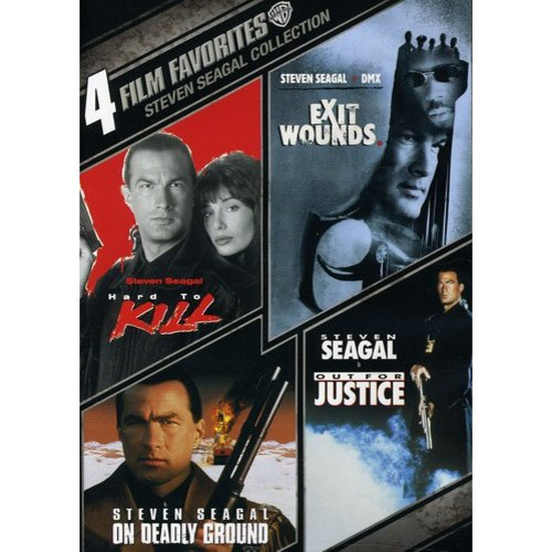 4 Film Favorites: Steven Seagal - Exit Wounds / Hard To Kill / Out For Justice / On Deadly Ground (Widescreen)