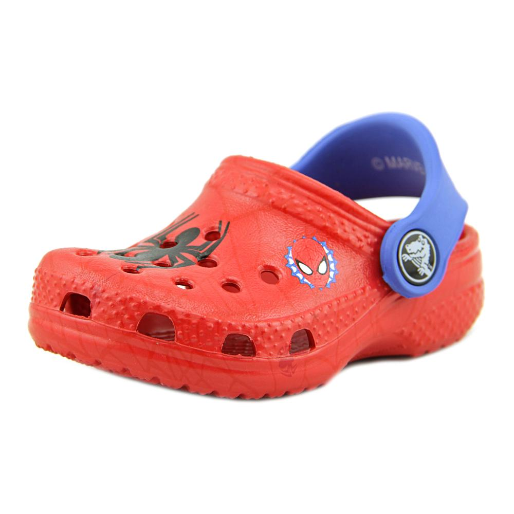 Crocs Classic Spiderman Round Toe Synthetic Clogs by Crocs