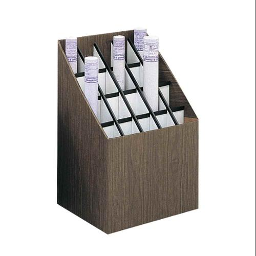 Upright Roll File w 20 Compartments