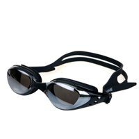 Unisex Mirrored Silicone Seal Anti Fog UV Protection Swimming Goggles