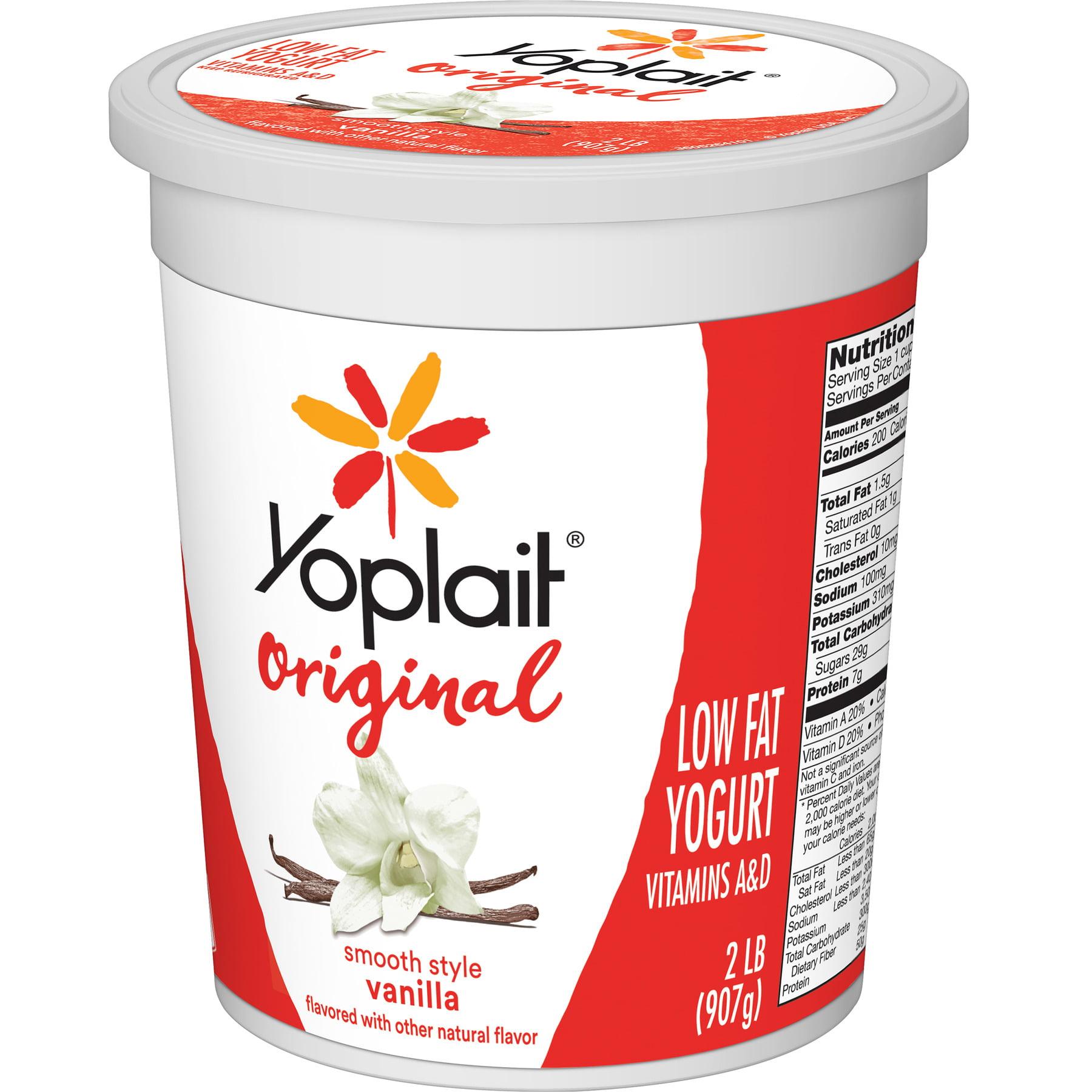 Vanilla, Low Fat Yogurt, 32 oz