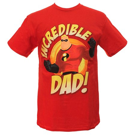 Disney The Incredibles Men's Incredible Dad T-Shirt