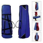 600D Water-resistant Trombone Gig Bag Oxford Cloth Backpack Adjustable Shoulder Straps for Alto/Tenor Trombone