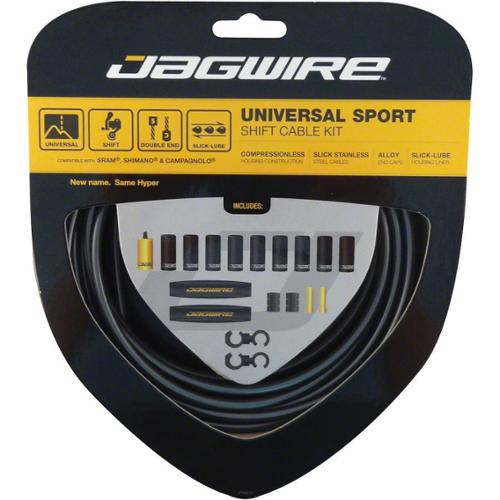 Jagwire Hyper Derailleur DIY Cable Kit Ice Gray