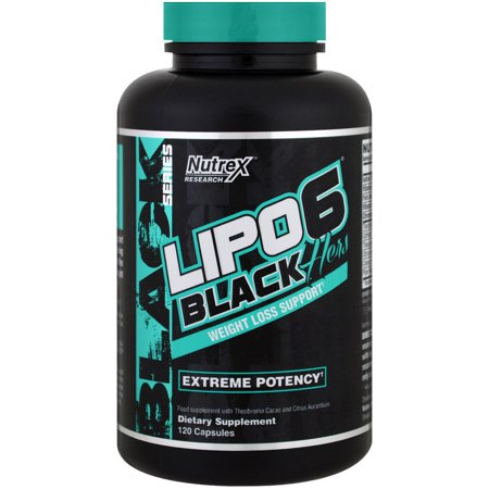 Nutrex Research LIPO-6 Black Hers, Weight Loss Support, 120 Capsules