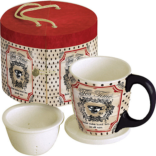 Lang Wisdom Brewed Here Tea Cup Set