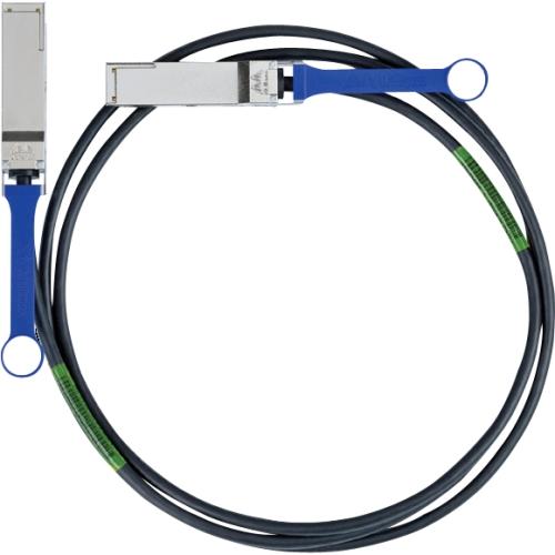 Mellanox 13.12ft QSFP to QSFP Passive Copper Network Cable - Black