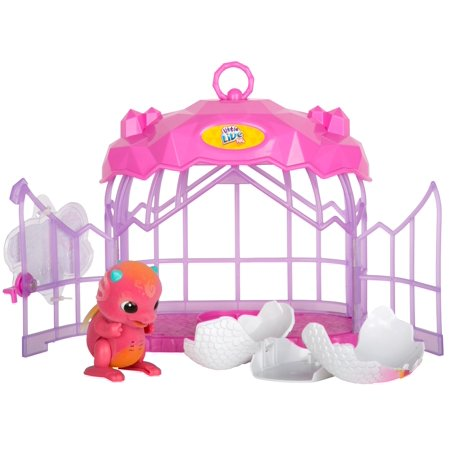 Little Live Pets Dragon Playset, Dragon with Crystal Cage