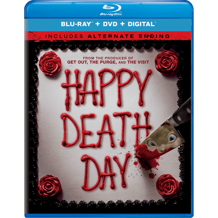 Happy Death Day (Blu-ray + DVD + Digital)](When Is Happy Halloween Day 2017)