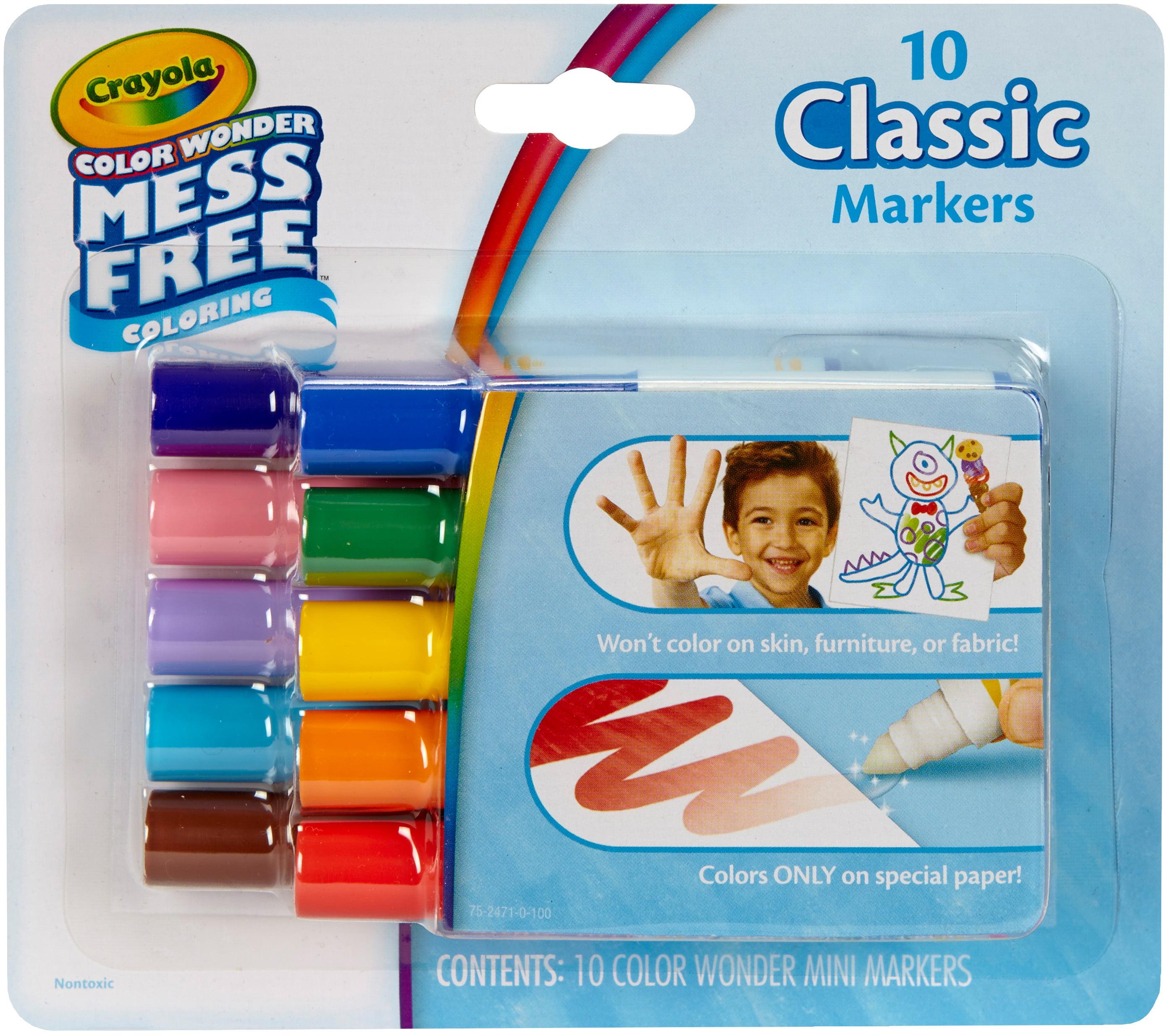 Crayola Color Wonder Mini Markers Classic by Crayola