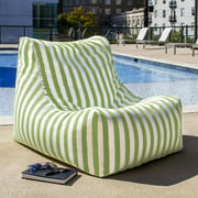 jaxx Ponce Outdoor Striped Patio Lounge Chair