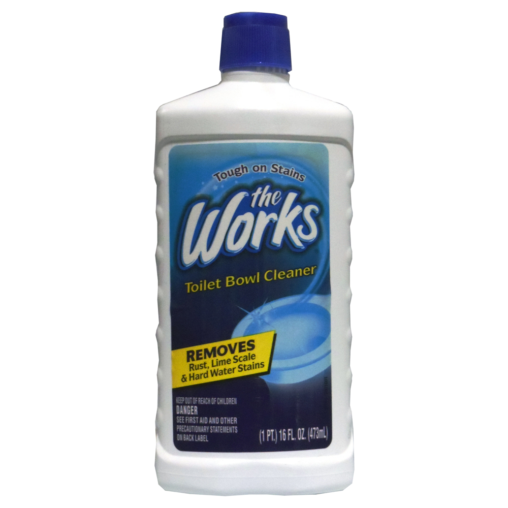 The Works Disinfectant Toilet Bowl Cleaner 16 Oz Walmart Com
