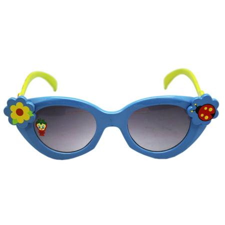 Baby Tweety Strawberry Costume Light Blue Frame Kids Sunglasses (Strawberry Costume Baby)