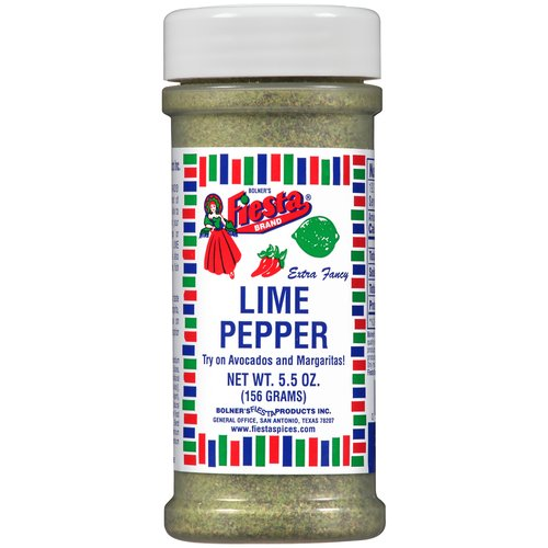 Bolner's Fiesta Extra Fancy Lime Pepper, 5.5 oz