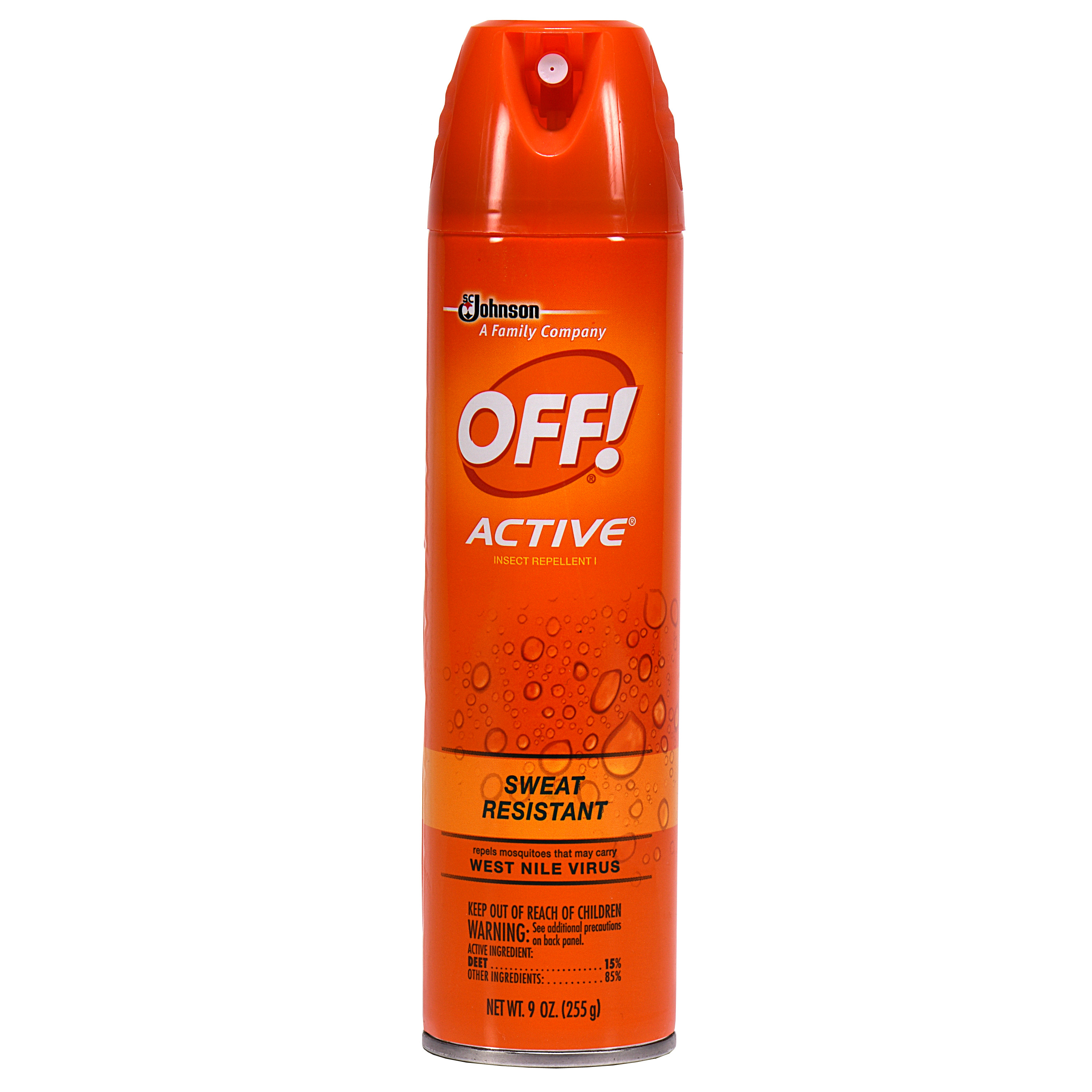 OFF! Active Insect Repellent I 9 Ounces
