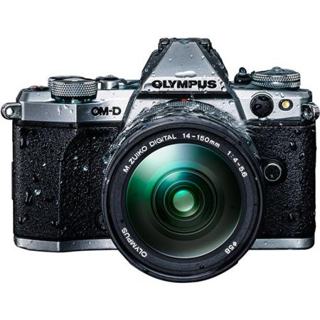 Olympus OM-D E-M5 Mark II Weatherproof Kit, with ED 14-150mm Weatherproof F4.0-5.6 II Lens,