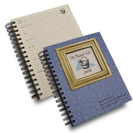Journals Unlimited Cj 78 My Bucket List Journal Book  Light Blue