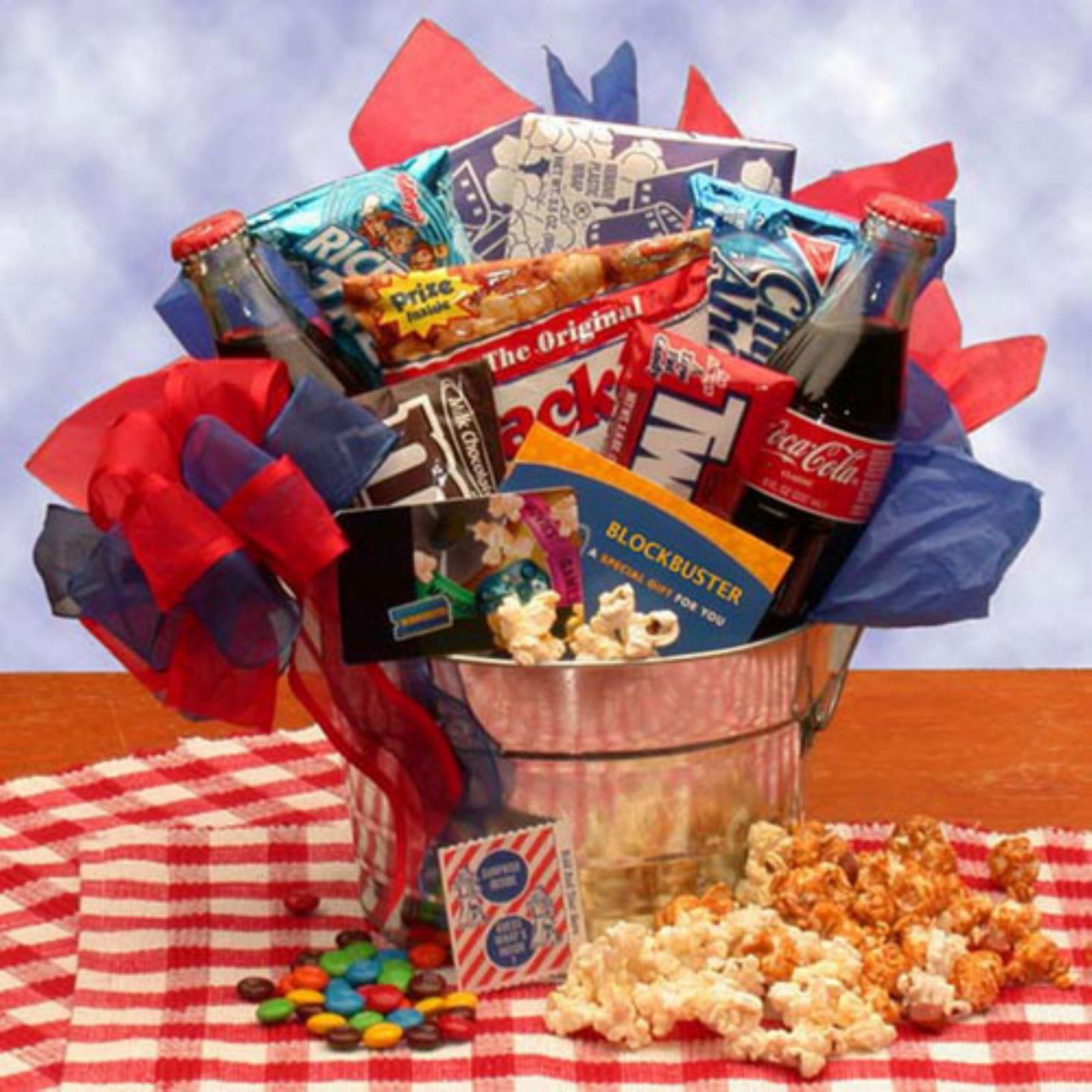 Blockbuster Movie Night Gift Pail