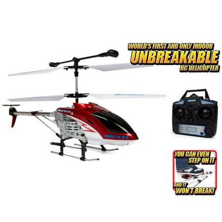 Hercules Unbreakable 3.5CH RC Helicopter (Color May -