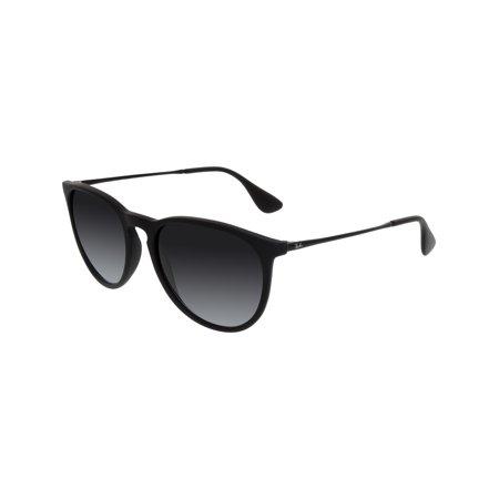 2d80d4ba4b2623 Ray-Ban Women s Gradient Erika RB4171-622 8G-54 Black Round Sunglasses ...
